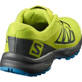 Salomon XA Elevate Shoes Kinder acid lime/urban chic/hawaiian surf